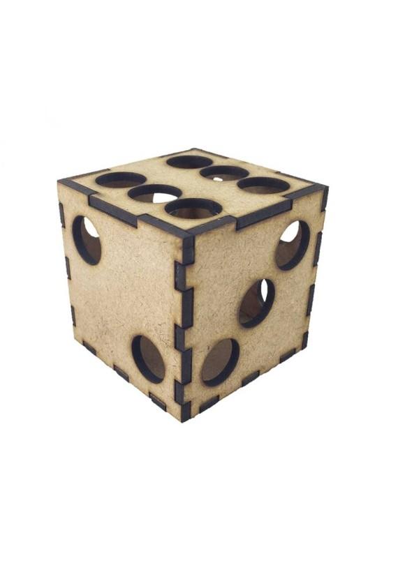 Caixa de dados - D6 popup