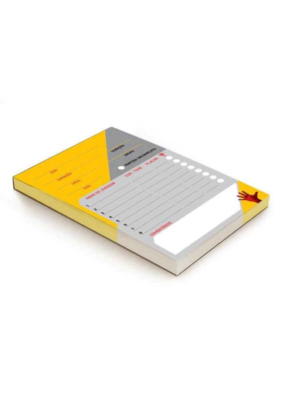 Score pad popup