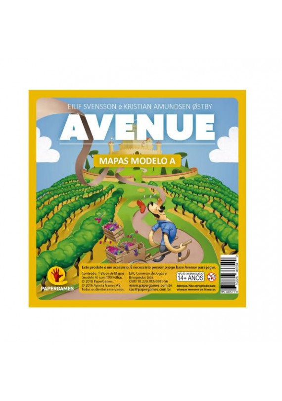 Bloco Avenue - Modelo A popup