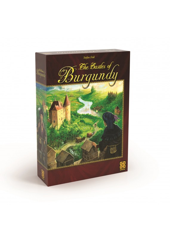 The castles of Burgundy popup