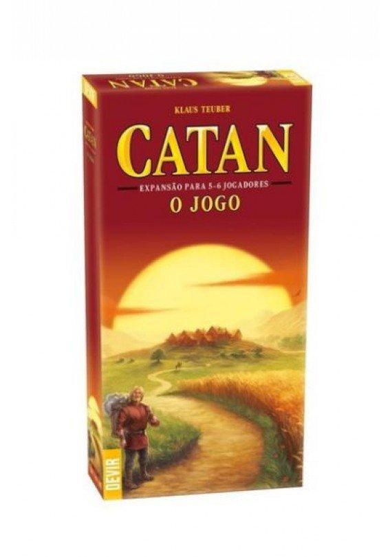 Catan: expansão para 5 ou 6 jogadores popup