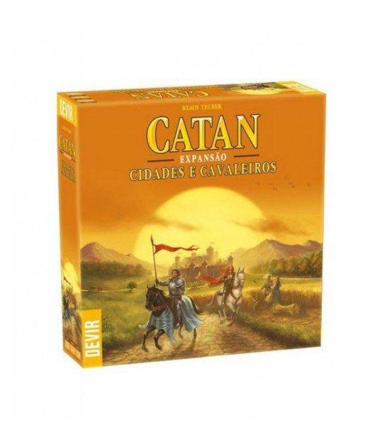 Catan: Cidades e cavaleiros (Exp.)