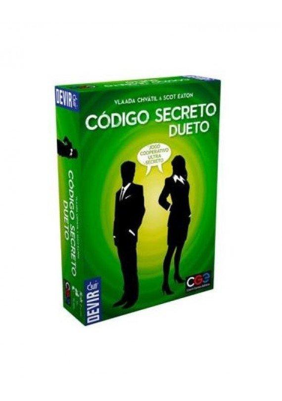 Código secreto: Dueto popup