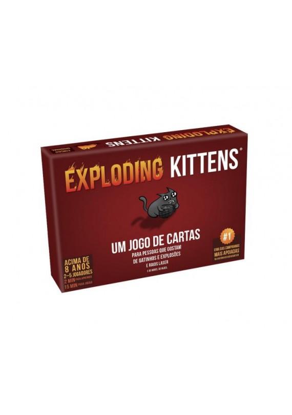 Exploding Kittens popup