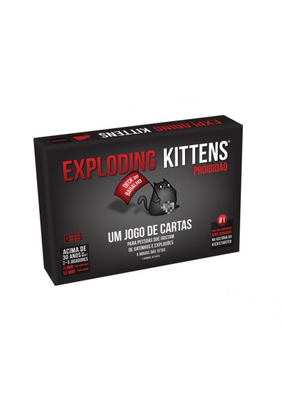 Exploding Kittens Proibidão popup
