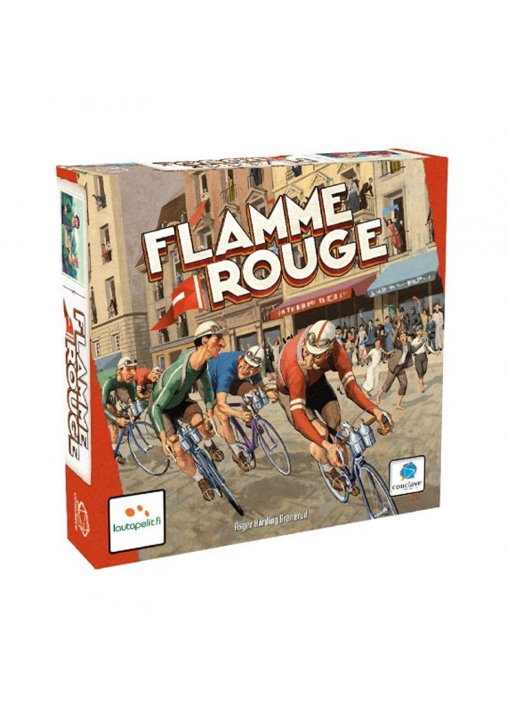 Flamme rouge popup