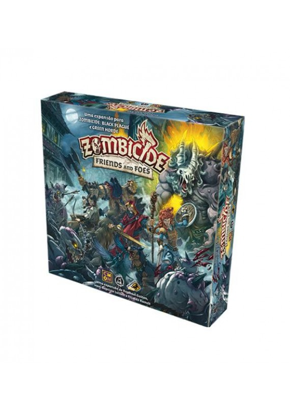Zombicide: Friends and foes popup