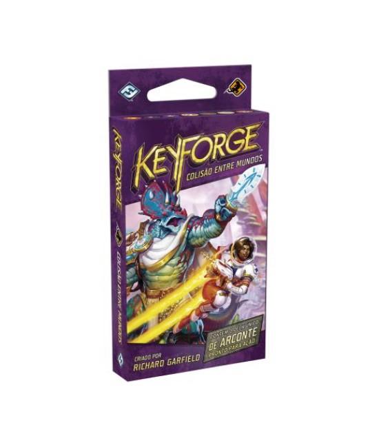 Keyforge: colisão entre mundos - Deck único