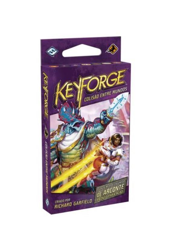 Keyforge: colisão entre mundos - Deck único popup