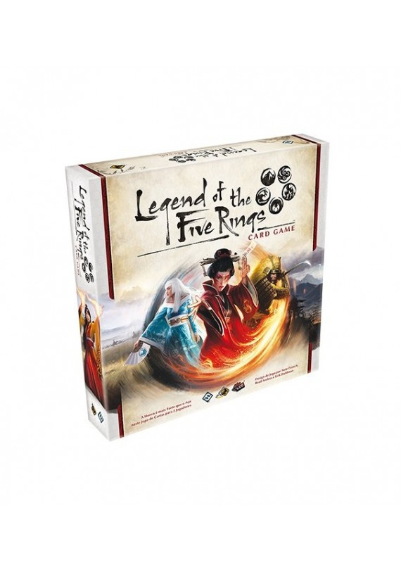 Legend of the five rings: card game popup