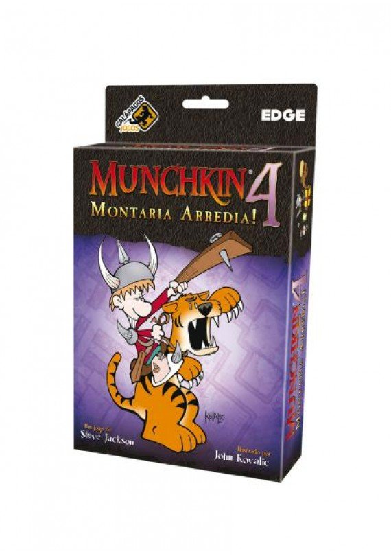 Munchkin 4: Montaria arredia (Exp.) popup