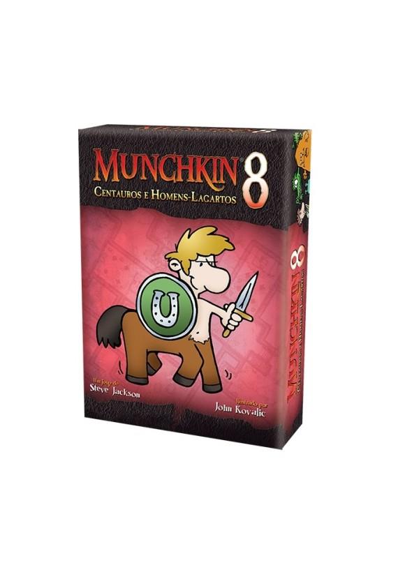 Munchkin 8: centauros e homens-lagartos popup