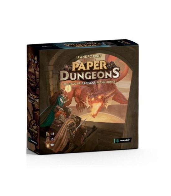 Paper Dungeons: Um jogo de rabiscar masmorras