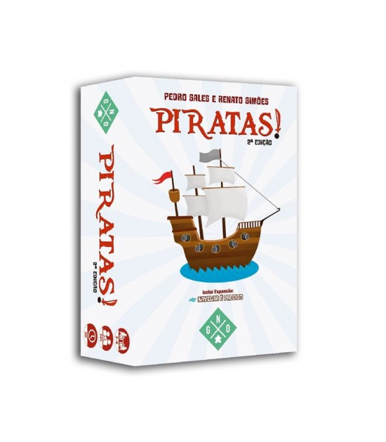 Piratas! (2a. edição)