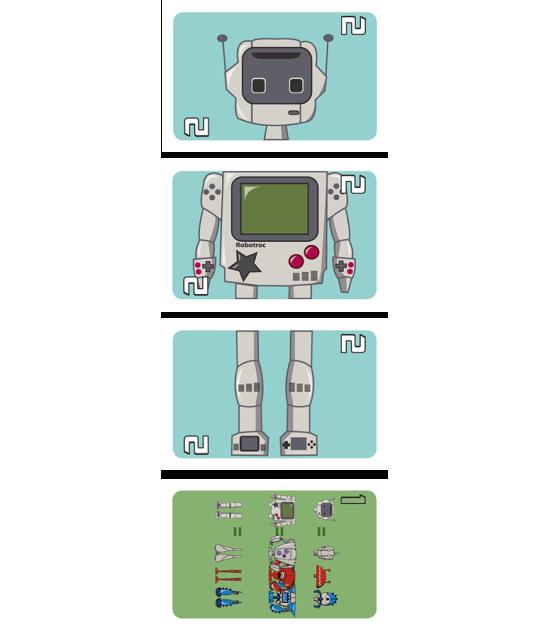 RoboTroc + Promo 1: game robot