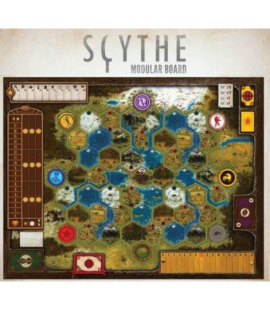 Tabuleiro modular do Scythe