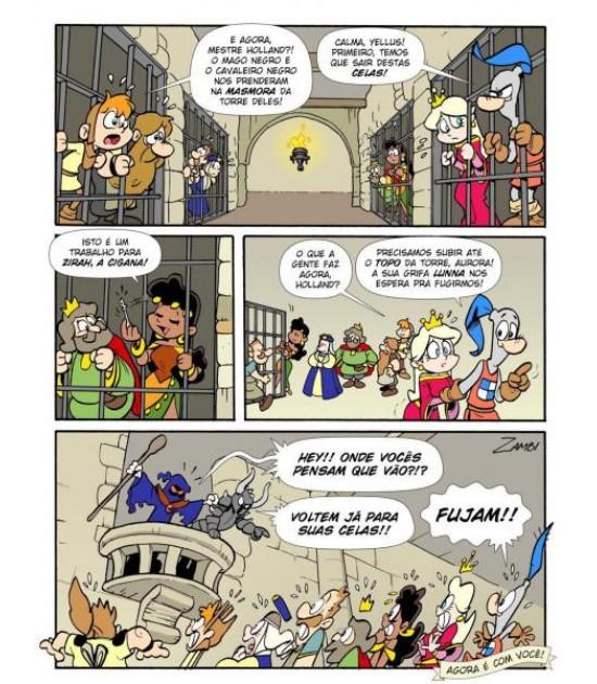 Sir Holland: A fuga da torre