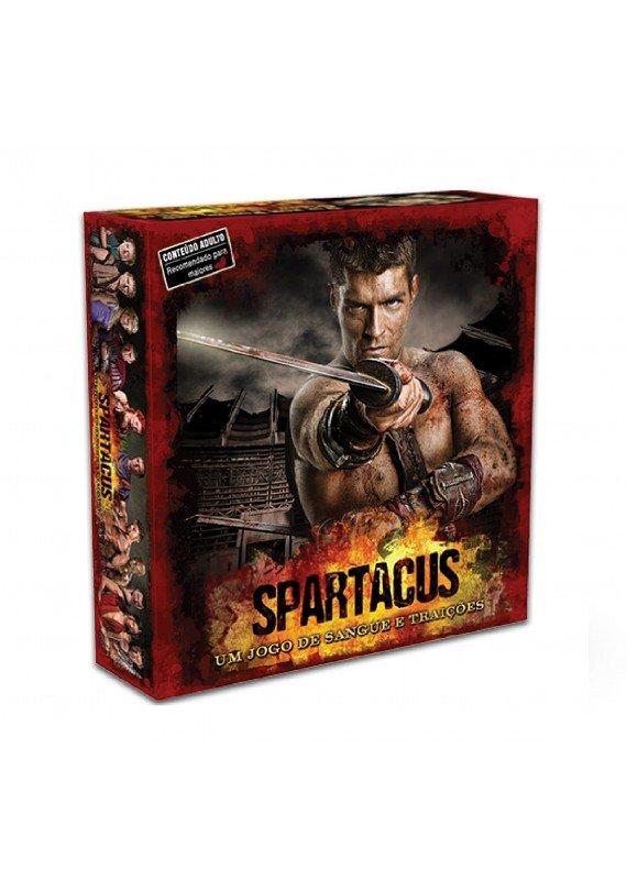 Spartacus: um jogo de sangue e traições popup