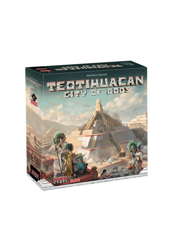 Teotihuacan: City of the God  + Insert em MDF popup