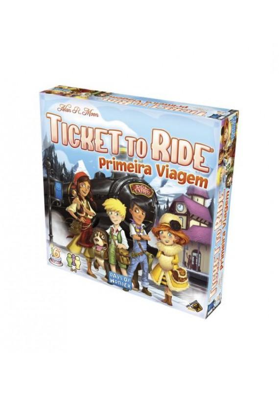 Ticket to ride: Primeira Viagem popup