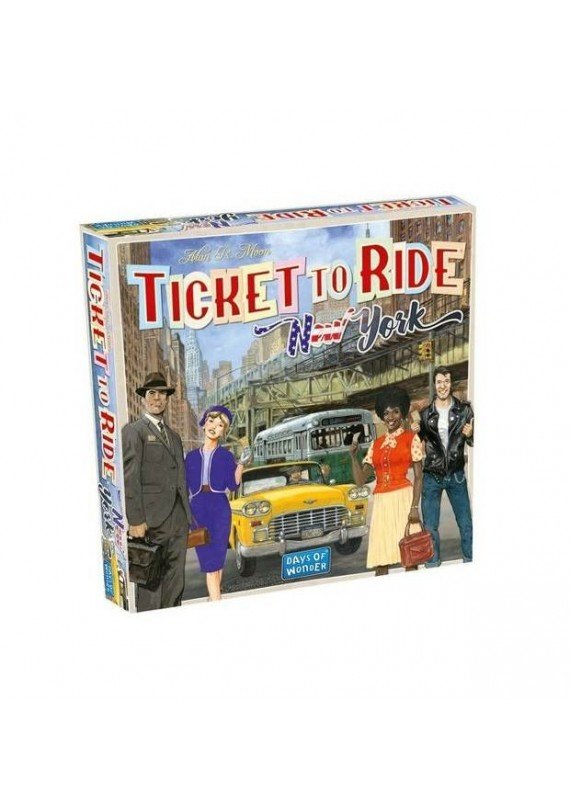 Ticket to ride: New York popup
