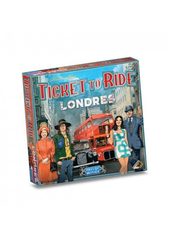 Ticket to ride Londres popup