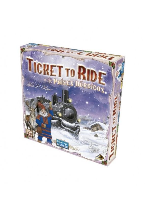 Ticket to ride: Países Nórdicos popup
