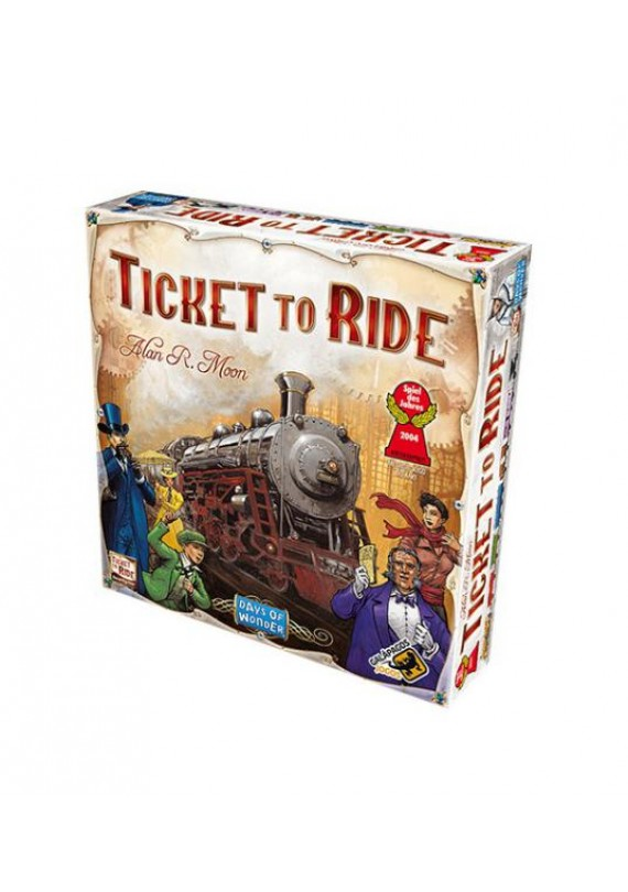 Ticket to ride USA popup