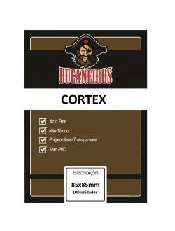 Sleeve Customizado: Cortex Desafios! (85x85mm)