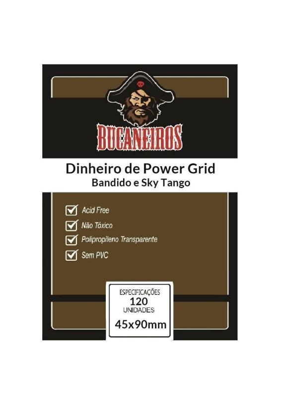 Sleeve Customizado: Dinheiro de Power Grid (45x90mm) popup