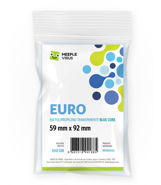 Sleeve Euro (59x92mm)