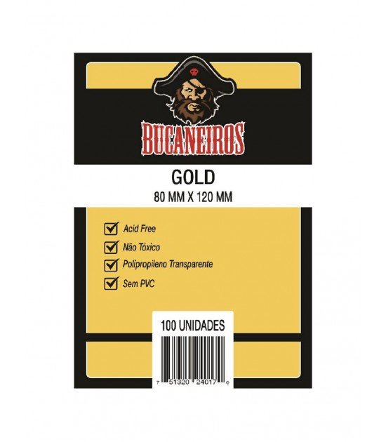 Sleeve Gold (80x120mm)