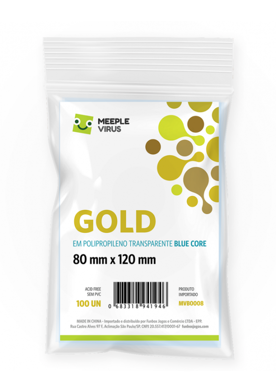 Sleeve Gold (80x120mm) popup