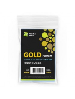 Sleeve Gold Premium (80x120mm)