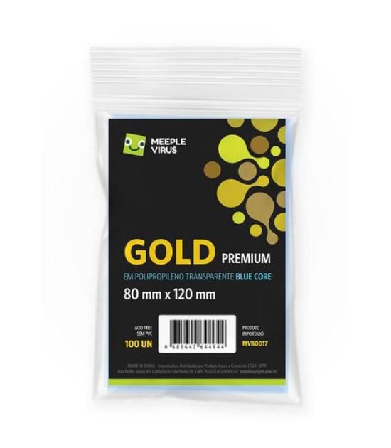 Sleeve Gold Premium (80x120mm)