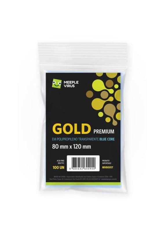 Sleeve Gold Premium (80x120mm) popup