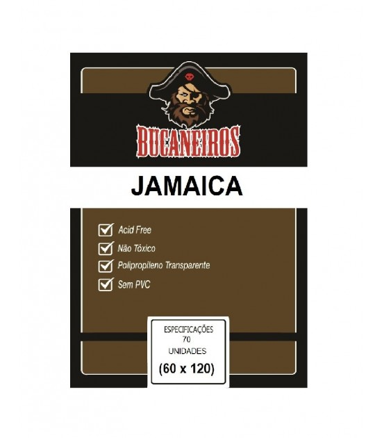 Sleeve Customizado: Jamaica (60x120mm)