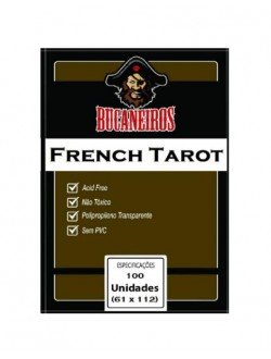 Sleeve French Tarot (61x112mm)