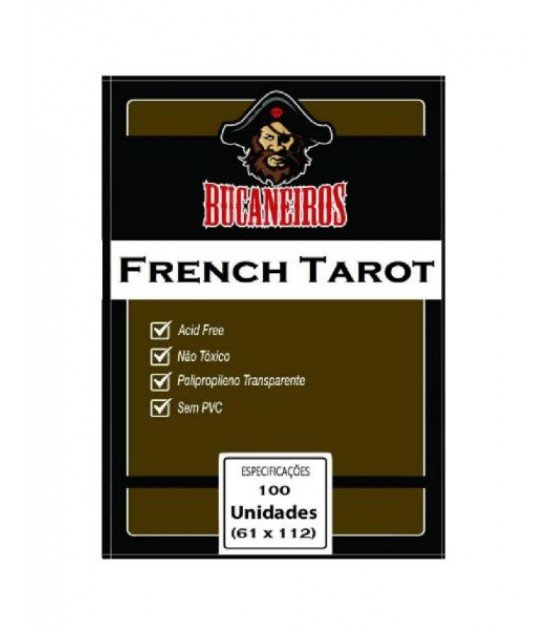Sleeve French Tarot (61x112mm)