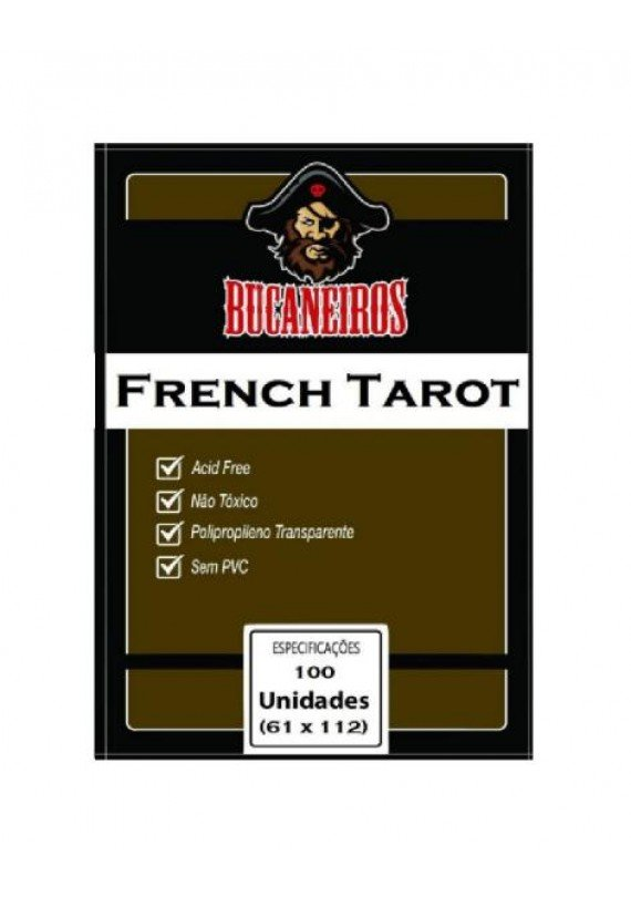 Sleeve French Tarot (61x112mm) popup