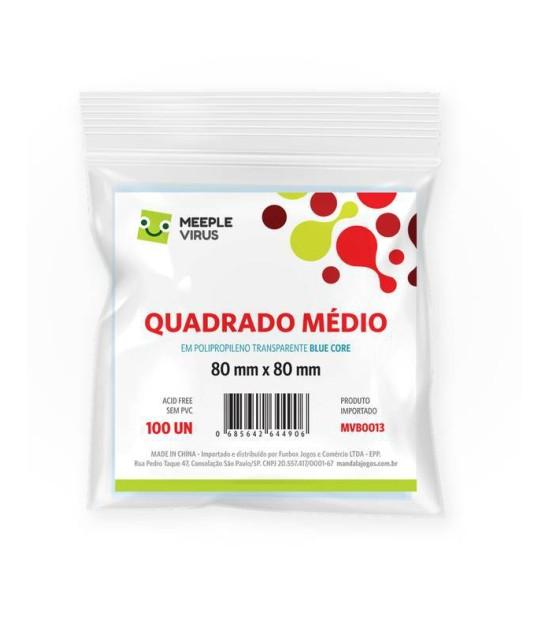 Sleeve Quadrado Médio (80x80mm)