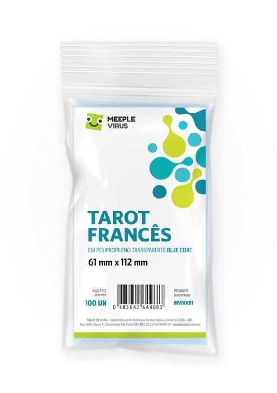 Sleeve Tarot Francês (61x112mm) popup