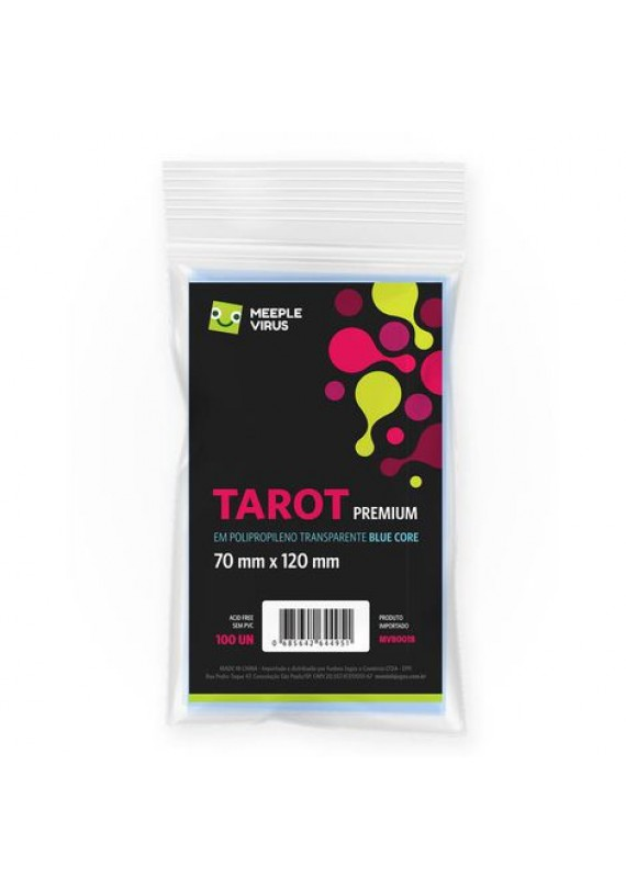 Sleeve Tarot Premium (70x120mm) popup